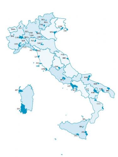 Cartina Italia Idrografica.La Mappa Dell Italia Dei Veleni