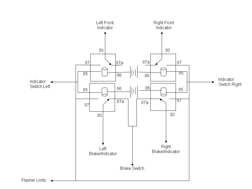 Lucas Flasher Unit Wiring Diagram